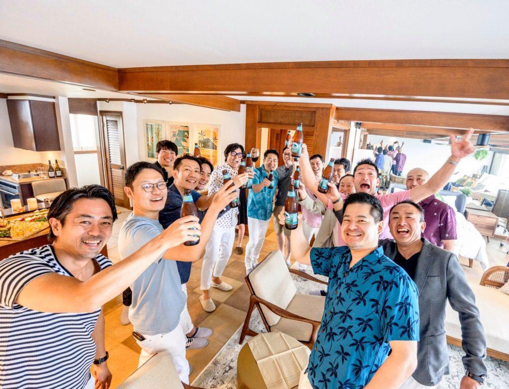 ハワイでのサプライズ大成功!